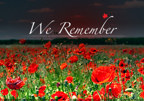 Remembrance Day Liturgy on Nov. 10 @ 10:45