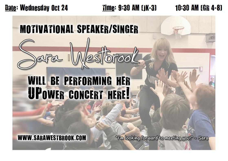 Sarah Westbrook: Student Presentation