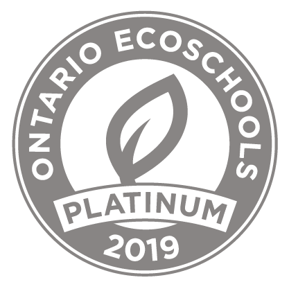 EcoSchool Certified platinum